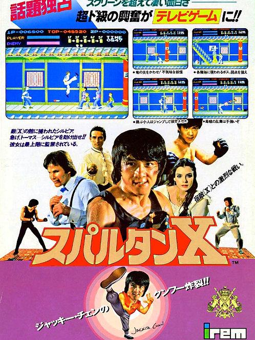 Kung fu master - Spartan X Arcade
