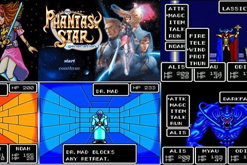 Mug Master system Phantasy star 1