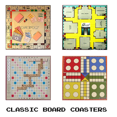 Coaster Classic Board Games Set