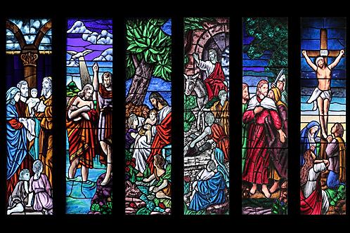 Mug Faith - Stained Glass Christs Life 4