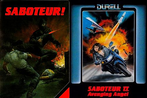 Saboteur 1 + 2 covers
