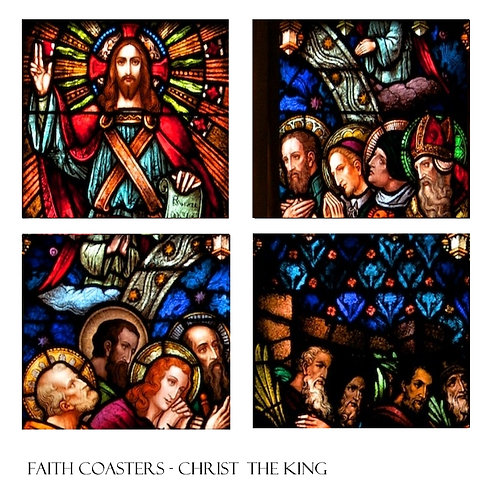 Coaster Christ the King 4 Set