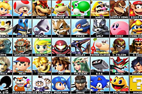 Mug Super Smash Brawl Line up