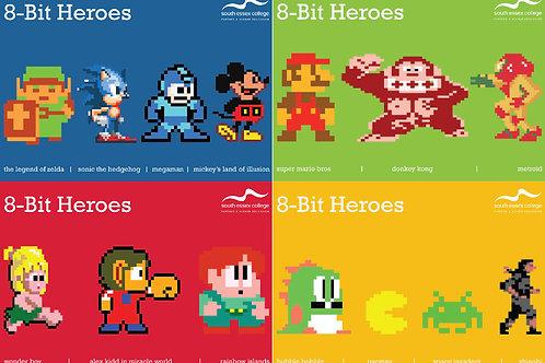 Mug 8bit Heroes
