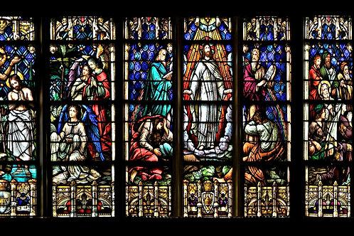Mug Faith - Stained Glass Christ's life 3