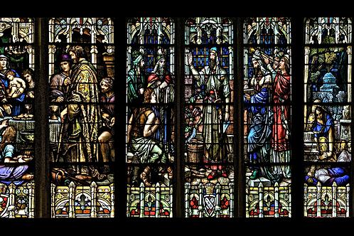 Mug Faith - Stained glass christ's life 2