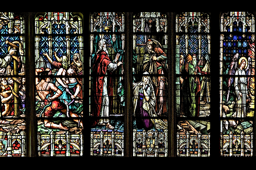 Mug Faith - Stained Glass Christ's Life