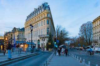 Immeuble triangulaire à Bordeaux