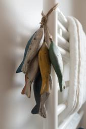 Les poissons comme détails décoratifs