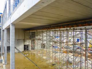 Construction d'un immeuble tertiaire