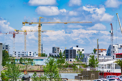 Nouveau quartier Bassins à flot à Bordeaux