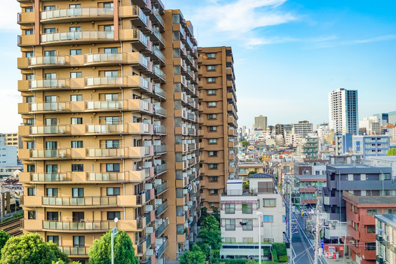 Diversité des constructions de Tokyo