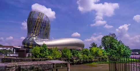 La Cité mondiale du vin à Bordeaux