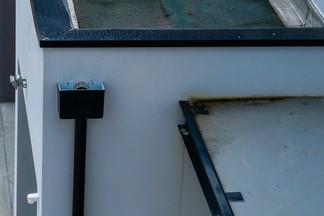 Le Broustey détails du toit terrasse