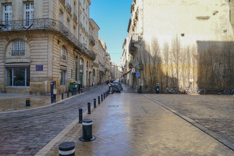 Les vielles rues de Bordeaux