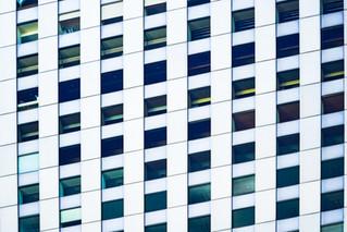 Détails de façade à Tokyo