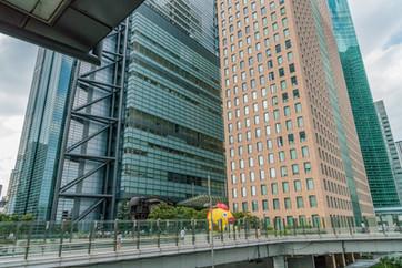 Immeubles à Tokyo