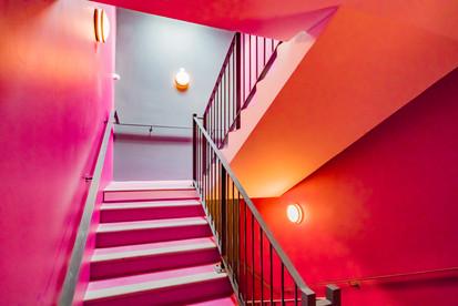 Cage d'escalier Villa Saline à La Teste De Buch