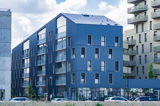 Immeuble résidentiel sur l'avenue Felix Faure à Bordeaux