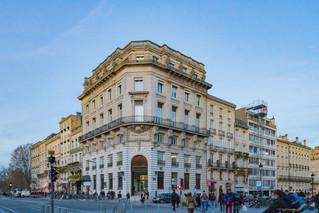 Un immeuble ancien à Bordeaux
