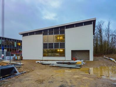 Immeuble de bureaux en cours de construction