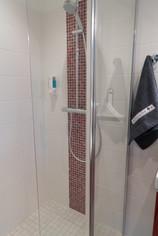 Détail de l'une des salles de bains.