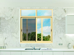 integrated sliding window with screen (2