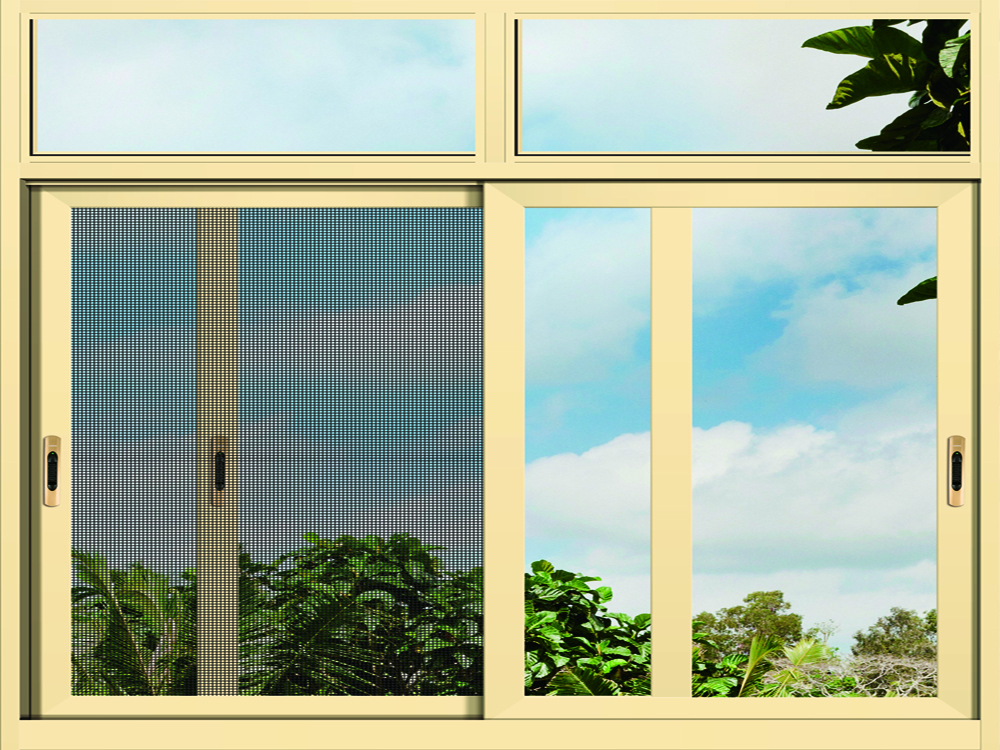 integrated sliding window with screen (1