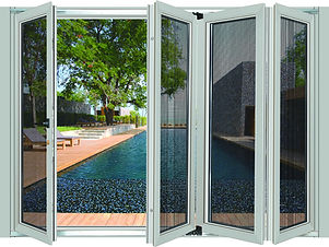 heavy hinged hidden bi-folding door (1).