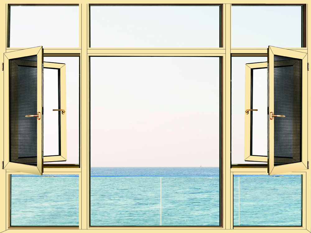 energy-saving thermal break window with