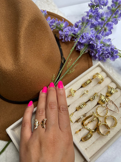 BoteBote - Vintage Butterfly Ring