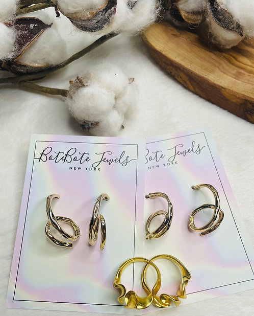 BoteBote - Whitney Loops Earring