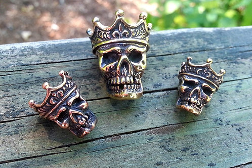 Small King of the Dead Paracord Bead