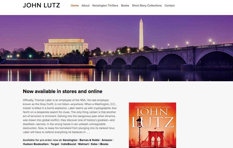 John Lutz, author