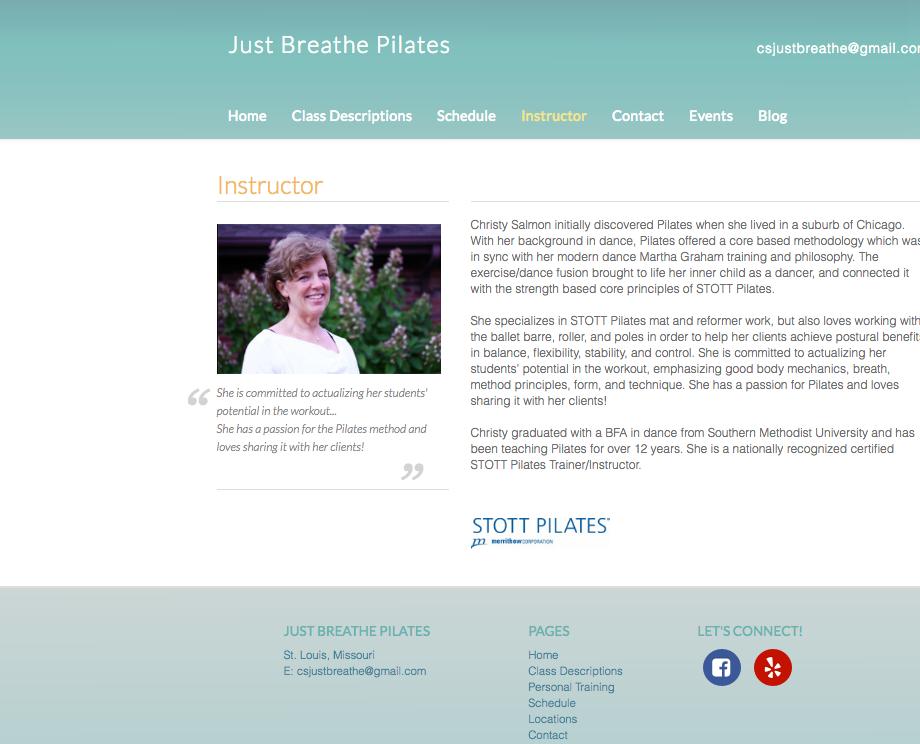 Just Breathe Pilates