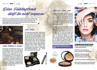 ESSENTIAL professional make up | BeautyBlog Port01 - Frühlingstrends 2017 !