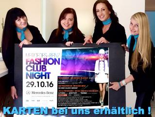MERCEDES- BENZ FASHION CLUB NIGHT Dresden 29.10.16 | vs BeautySpot   Styling Team ...