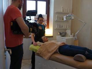 TV Dreh im BeautySpot Kosmetik Studio Dresden - Sendetermin Juni 2017 MDR Mittagsmagazin