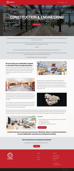 Vue360 Website Construction
