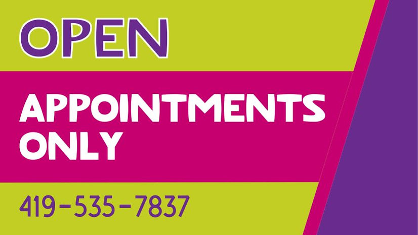 appointment only banner.JPG