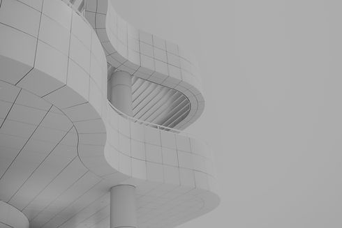 Abstrakte Architektur Skizze