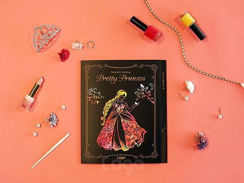 Scratch Coloring Kids - Pretty Princess