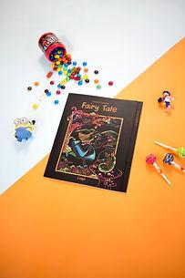 Lago Scratch Kids - Fairy Tale Coloring Book