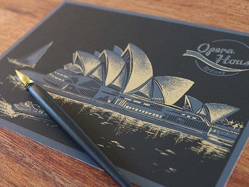 Scratch Postcard - Ver. 1