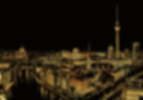 Night View Cityscape | Lago Design Scratch Art Hong Kong