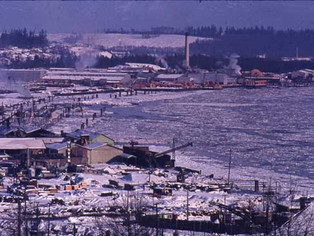 The Last Time The Fraser River Froze Over