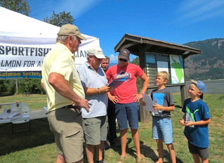 Fishery protest at Island 22 in Chilliwack turned into educational opportunity