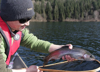 Mid-autumn fishing in the Lower Mainland