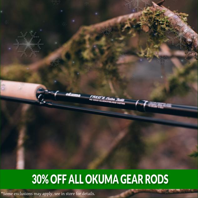 Okuma Gear Rods