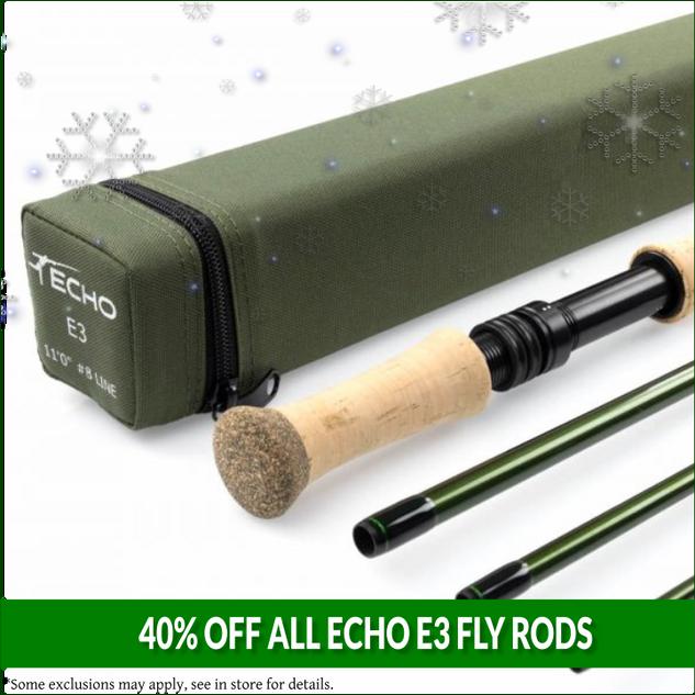 Echo E3 Fly Rods